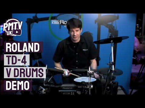 Roland TD 4 V Drums Demo