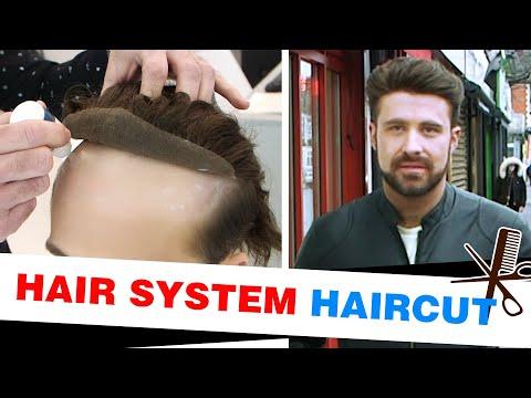 Hair System Haircut | Lordhair Men's Hair Systems