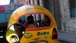 preview picture of video 'Coco Taxi Ride - Cuba'