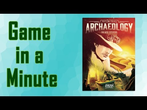 Game In A Minute Ep 34: Archaeology: The New Expedition