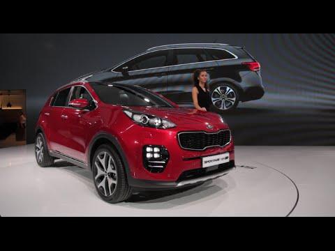 2017 Kia Sportage - 2015 Frankfurt Motor Show
