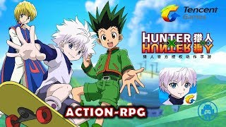 Hunter X Hunter Mobile Gameplay By Tencent Mobile Action-RPG (CN)