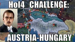 Hearts of Iron 4 Challenge: Restoring Austria-Hungary