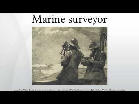 Marine surveyor - YouTube
