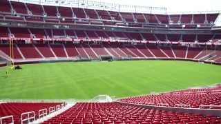 SF 49ers New Home Levi's Stadium   First Look