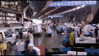 築地市場:「日本の台所」が6日閉場83年の歴史に幕