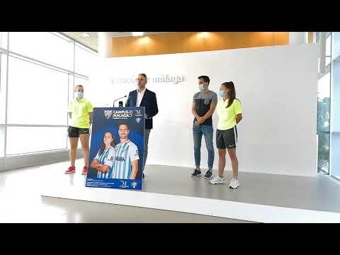 Una veintena de jóvenes futbolistas de la provincia asistirán al Campus del Málaga CF gracias a la Diputación provincial