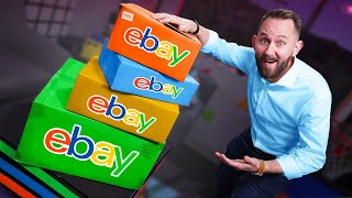 Buying & Trying 5 Random eBay Mystery Boxes!