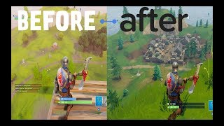 Fortnite New Map vs Old Map How it