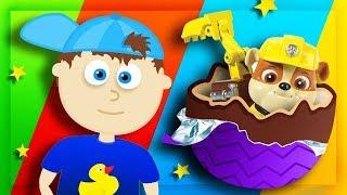 Мультики про КИНДЕРЫ. Обзор на игрушки Ми-ми-мишки, фигурки Щенячий патруль и других героев