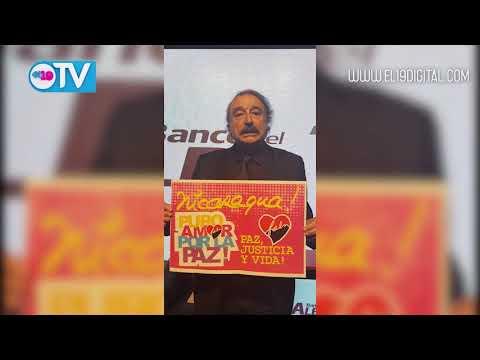 Periodista español Ignacio Ramonet envía mensaje de solidaridad con Nicaragua