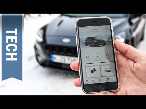 Ford Focus per App Fernstarten: Motorstart, Ver- und Entriegeln aus der Ferne mit FordPass App