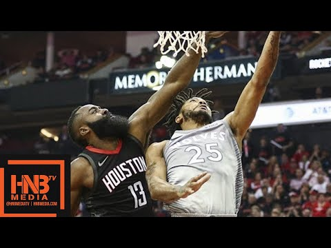 Houston Rockets vs Minnesota Timberwolves Full Game Highlights / Game 2 / 2018 NBA Playoffs