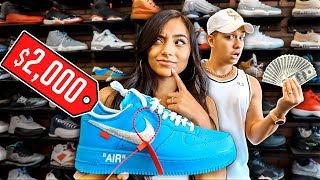 Guess The Price & I'll BUY You The Shoe - Challenge