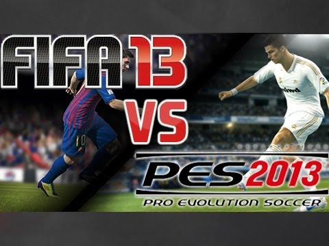 [Trailer] FIFA 13 vs PES 2013