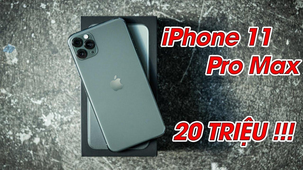 iPhone 11 Pro Max Lock, 20 triệu liệu bạn có mua?