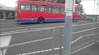 preview picture of video 'Buses at Hayes & Harlington Station (Video)'