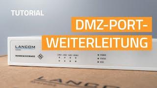 YouTube-Video DMZ-Portweiterleitung konfigurieren