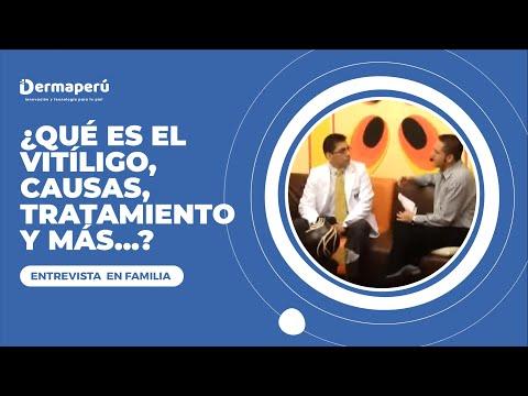 Entrevista Dr. Aparcana – En Familia – Vitiligo (1)