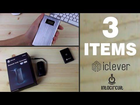 3 excelentes ACCESORIOS ELECTRONICOS de ICLEVER y INTOCIRCUIT