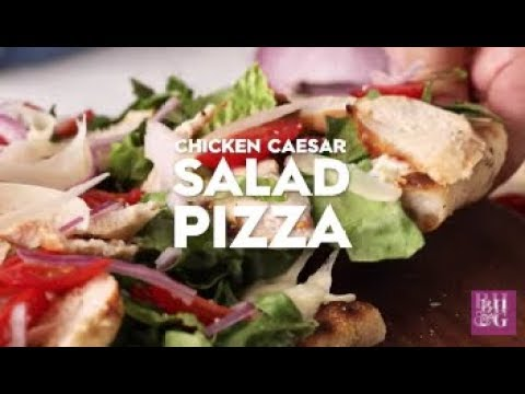 Chicken Caesar Salad Pizza | Fast & Fresh | Better Homes & Gardens