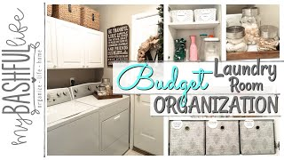 LAUNDRY Room Organization & Tour Spring Fever Series