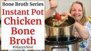 Instant Pot Chicken Bone Broth That Gels Every Time
