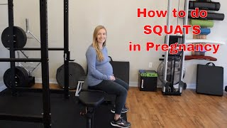 How to Do Squats during Pregnancy
