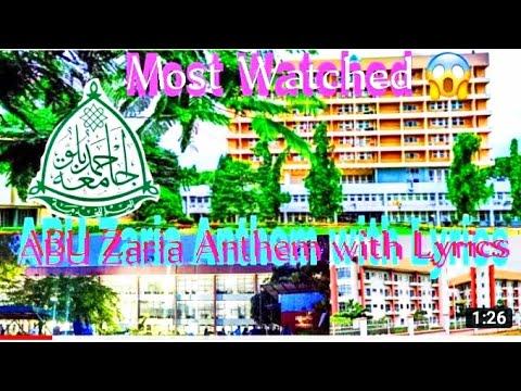 ABU Zaria School Anthem with Lyrics