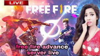 🔴FREE FIRE ADVANCE SERVER LIVE STREAMING/FREE FIRE ADVANCE SERVER LIVE GAMEPLAY /GARENA FREE FIRE