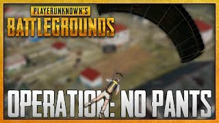 Player Unknown's Battlegrounds - #1 - Operation: No Pants (4 Player Squad Gameplay)