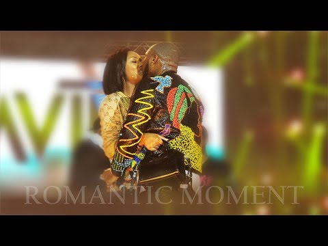 Davido & Chioma Romantic Moment @ Davido Soldout Concert, London 2019