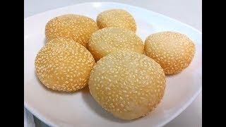 【20無限】賀年食品 : 煎堆  (空心麻糰) 不加泡打粉 Sesame Balls