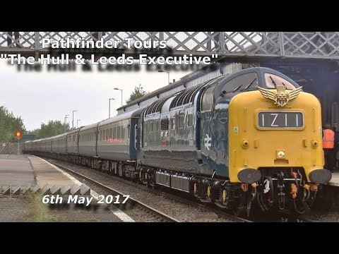 Pathfinder Tours 'The Hull & Leeds Executive' with 55009 & 6…
