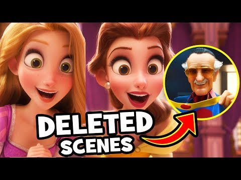 EVERYTHING DELETED From Ralph Breaks The Internet: Wreck-It Ralph 2!