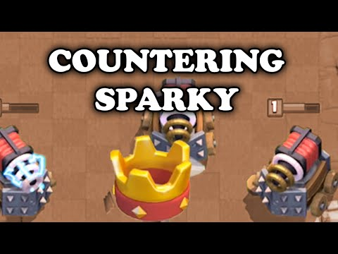 Clash Royale | How to Counter Sparky