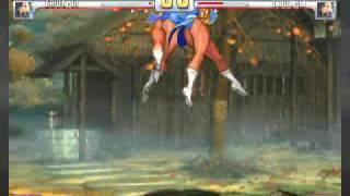 Mirror Match 4 Chun-Li vs Chun-Li