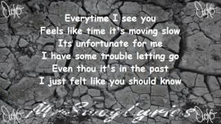 Drake - Falling up lyrics.