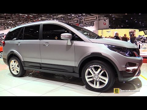 Tata Hexa Concept - Exterior and Interior Walkaround - 2015 Geneva Motor Show