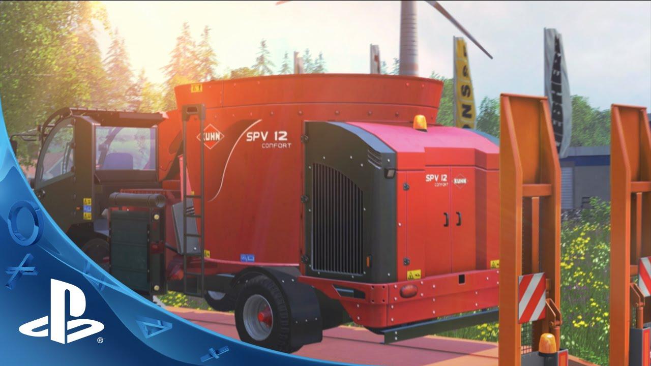 Farming Simulator 15 Chegando ao PS4 e PS3