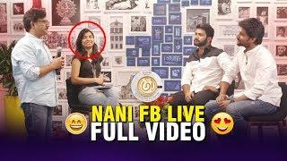 Hero Nani FaceBook Live | Hero Nani & Prasanth Varma FUNNY Interview | Awe Movie Interview