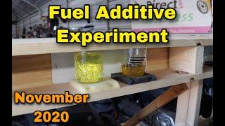 Fuel Additive Experiment - November 2020