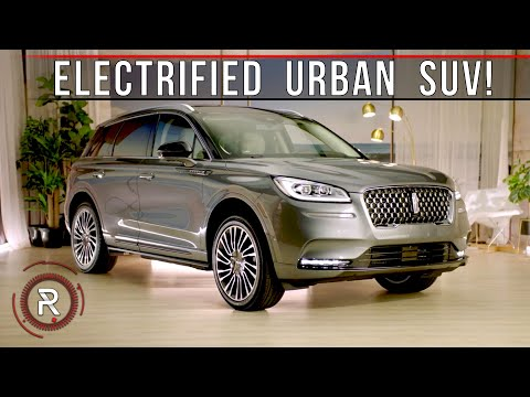 The 2021 Lincoln Corsair Grand TouringOffers Attainable ElectrifiedUrban Luxury