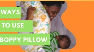 Mom Approved | Ways I Use The Boppy Pillow For 2-Month Old