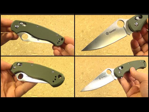Ganzo G729 Folding Knife Review ($14.14 on sale)