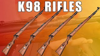 K98 Rifle - German K98 Rifle 8mm Bolt Action - w/ All Original Markings - Sold Individually by Serial #.
