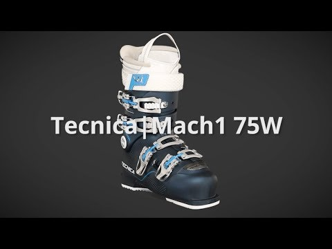 Video: 2018 Tecnica Mach1 75W MV Womens Boot Overview by SkisDotCom
