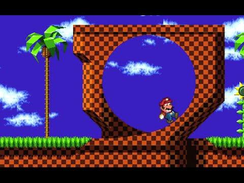 Mario ve světě Sonica