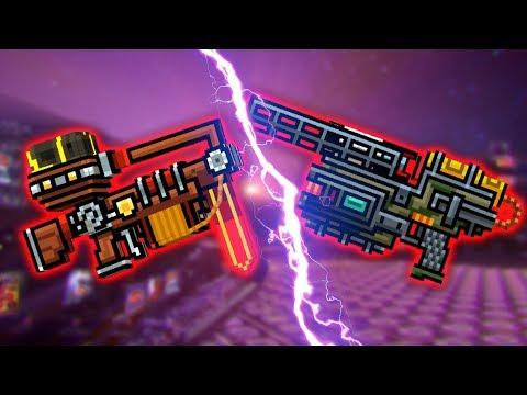 Pixel Gun 3D : OFFENSIVE CATAPULT [VS] HUGE BOY