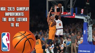 NBA 2K19 Gameplay Improvements: The Devs Listened to us